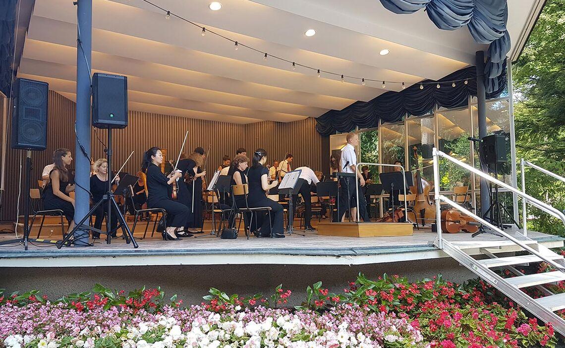 Kurmusik im Kurgarten