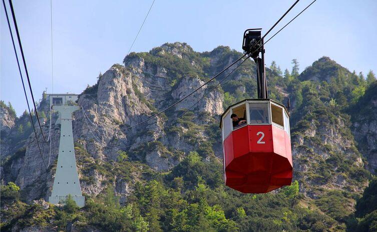 16 Predigtstuhlbahn Bahn