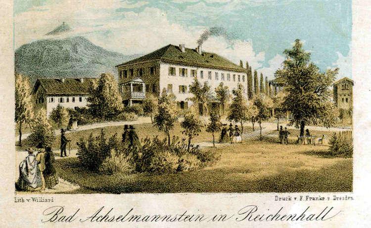 Achselmannstein Kurgarten Stadtarchiv