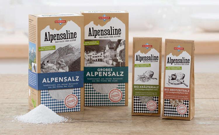 Alpensalz Alpensaline Bad Reichenhall