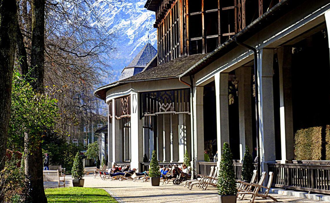 Alpensole Gradierhaus