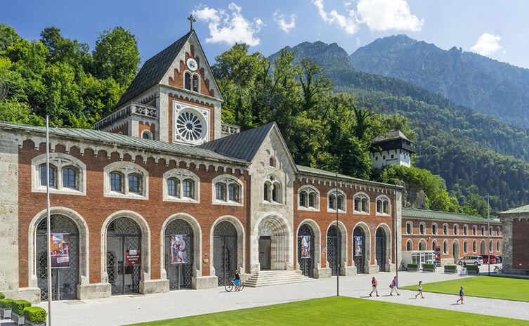 Alte Saline Alpenstadt Bad Reichenhall Sommer