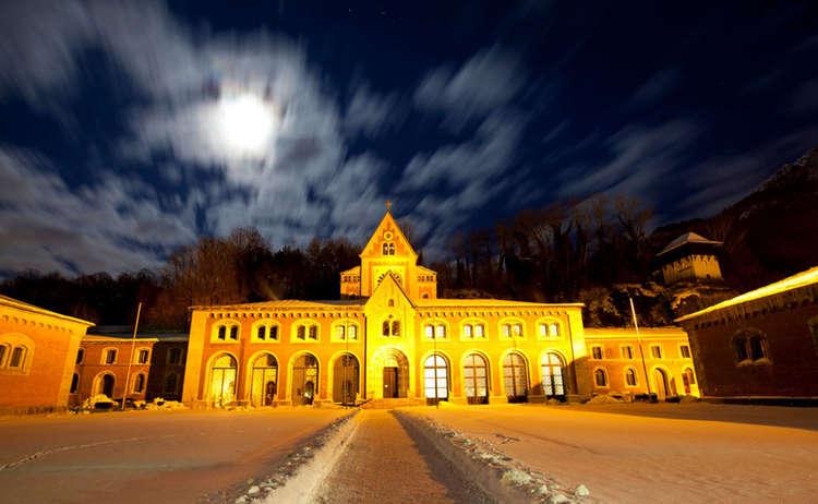 Alte Saline Winter Nacht