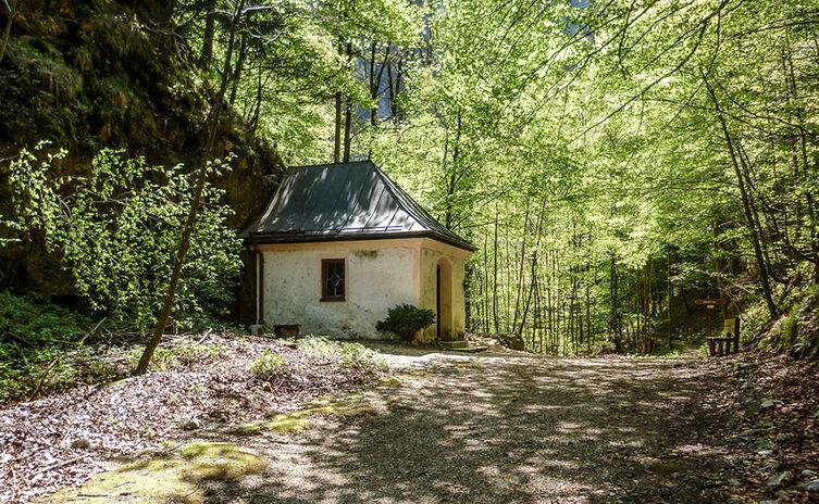 Antoniberg Kapelle Reichenhall Soleleitung