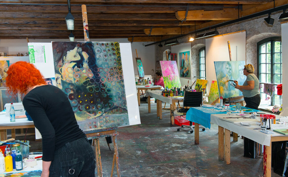 Art classes in Bad Reichenhall
