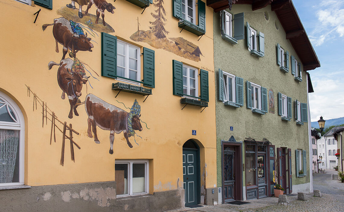 Attractive Facades In The Upper Town