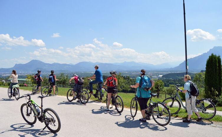 Ausblick vom Högl nach Salzburg