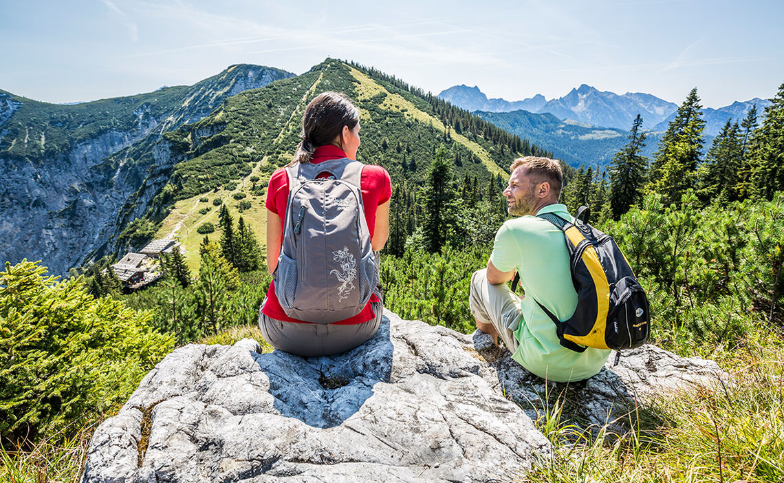 Aussicht Predigtstuhl Wandern