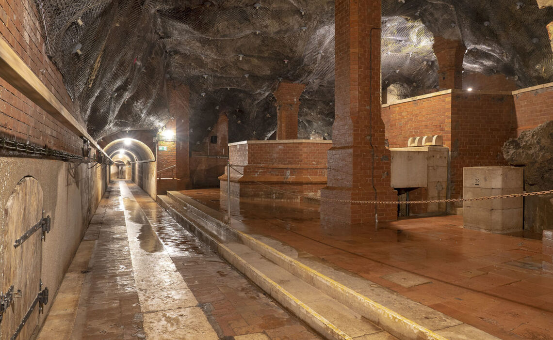Quellenbau in der Alten Saline