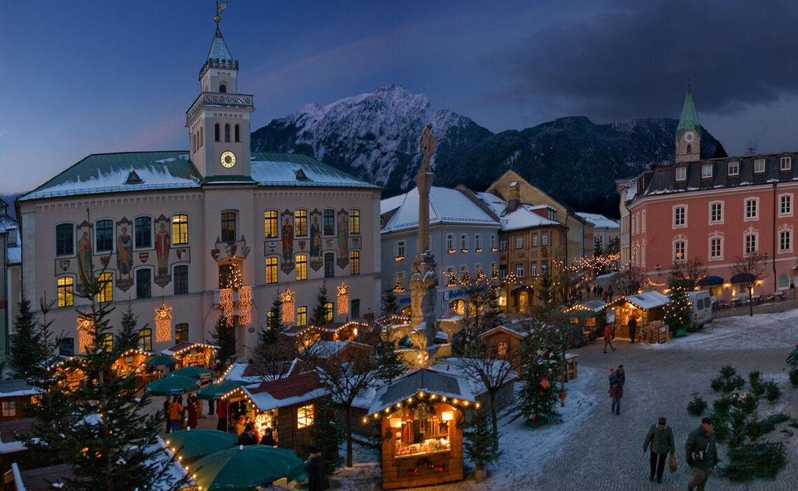 Bad Reichenhall's Christmas market