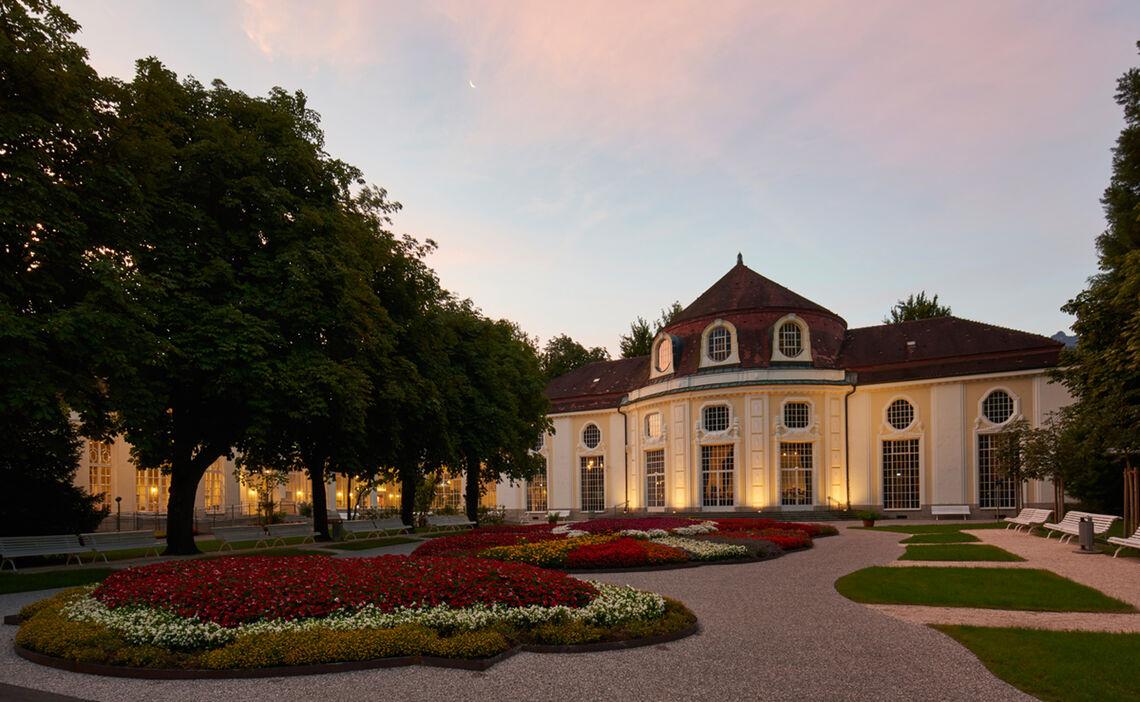 Bad Reichenhall's Circular Concert Hall