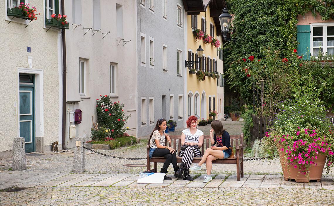 Bad Reichenhall S Old Town