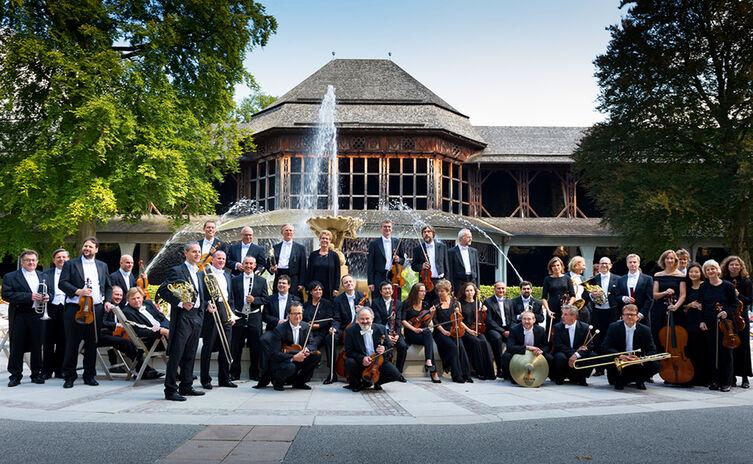 Bad Reichenhall's Philharmonic Orchestra in the Spa Garden