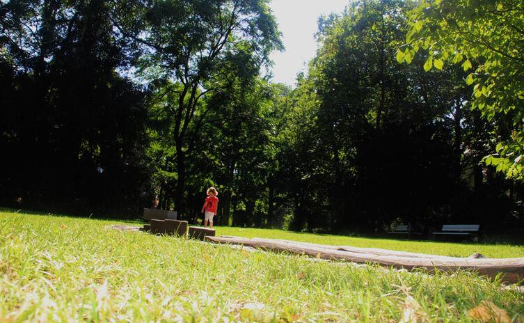 Barfusspfad Ortenaupark Reichenhall