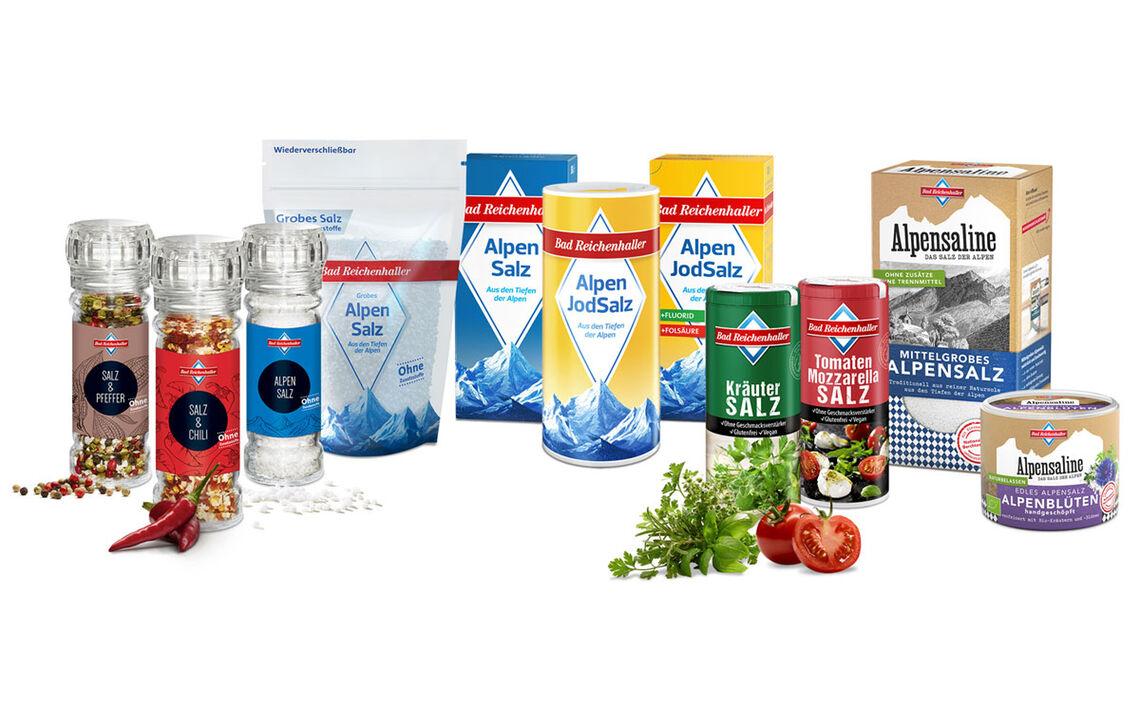 Brh Alpensaline Produktrange