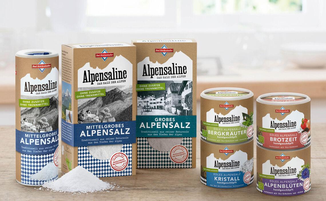 Edle Alpensalze der Bad Reichenhaller Alpensaline