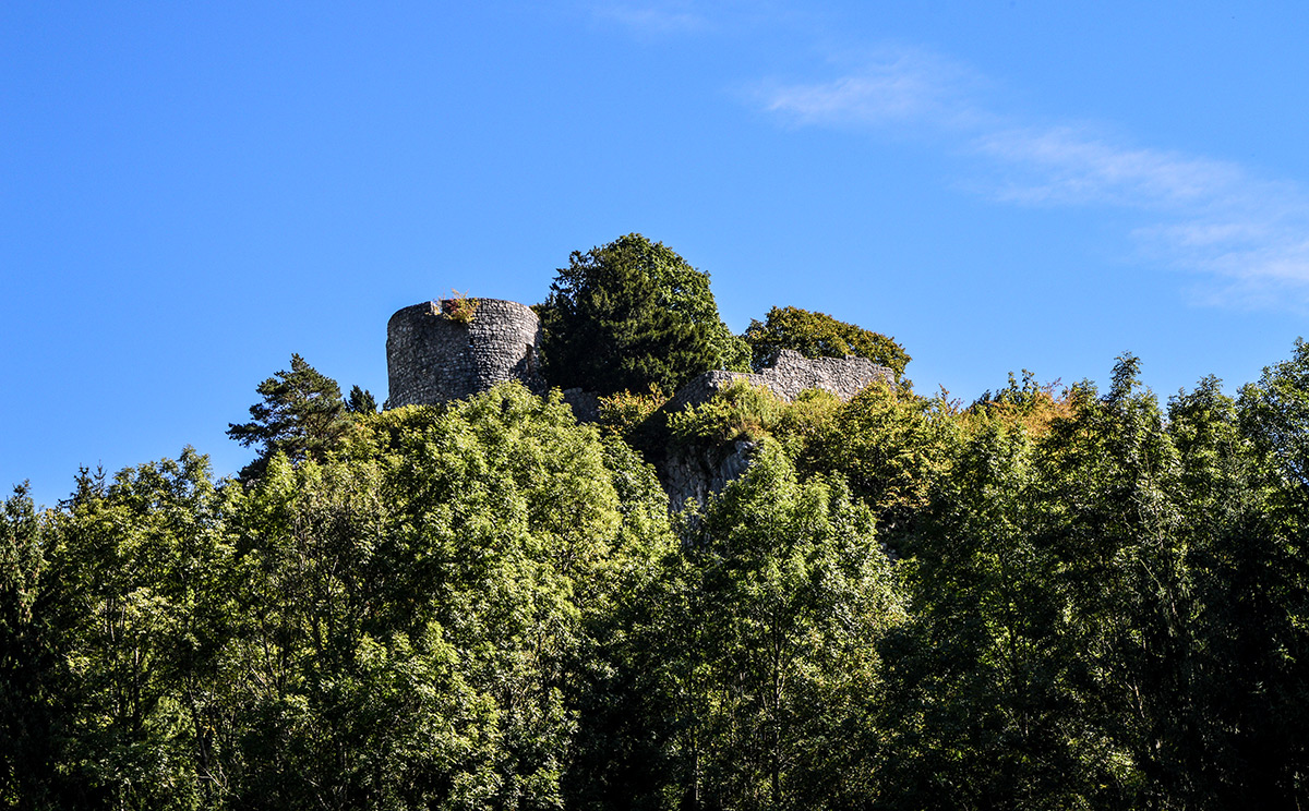 Burgruine Karlstein 1