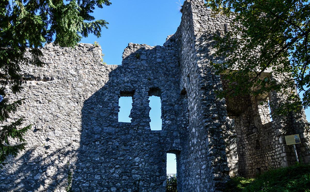Burgruine Karlstein 11
