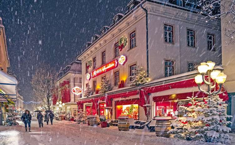 Café Reber Winter