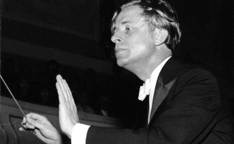 Dirigent Wilhelm Barth Reichenhall