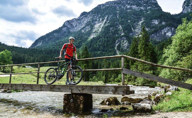 E Mountainbike Schwarzbachalm