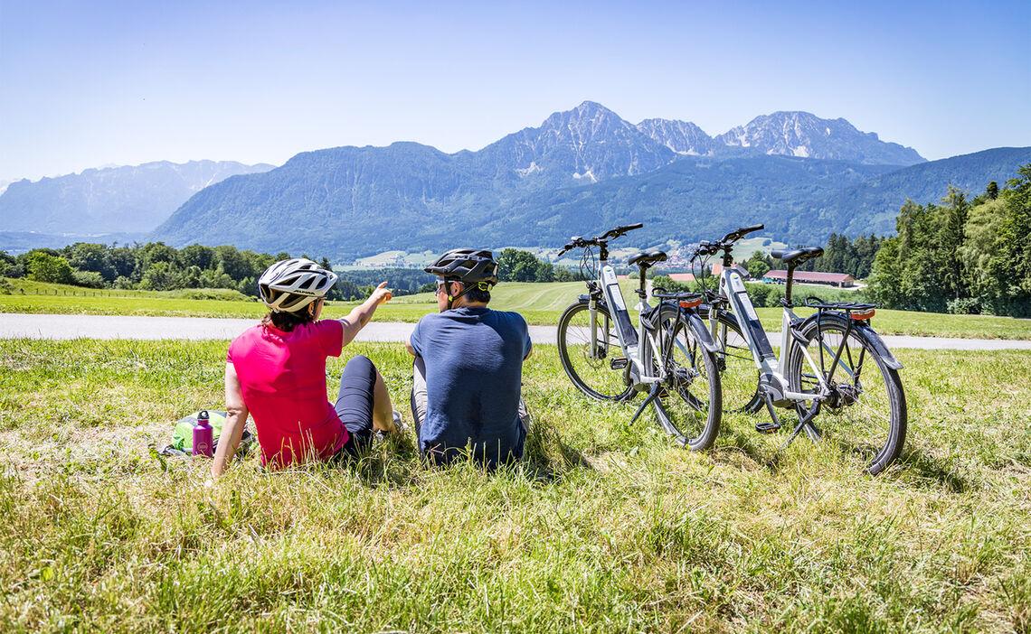 E-Bike Touren rund um Bad Reichenhall