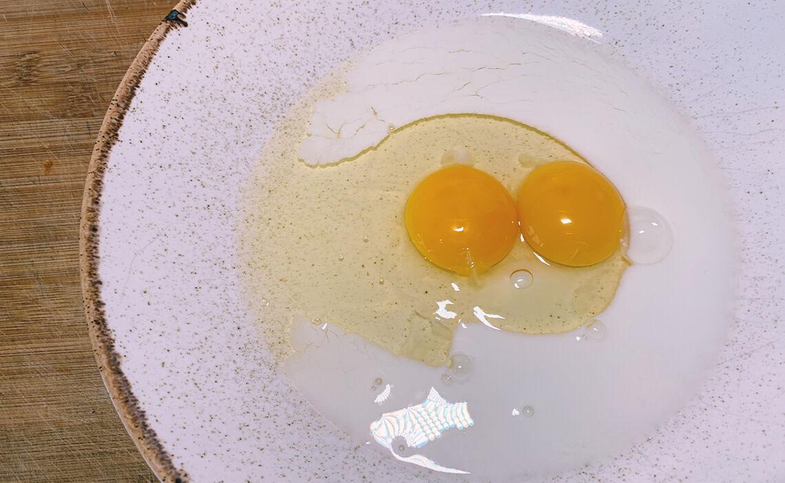 Eier mit Milch