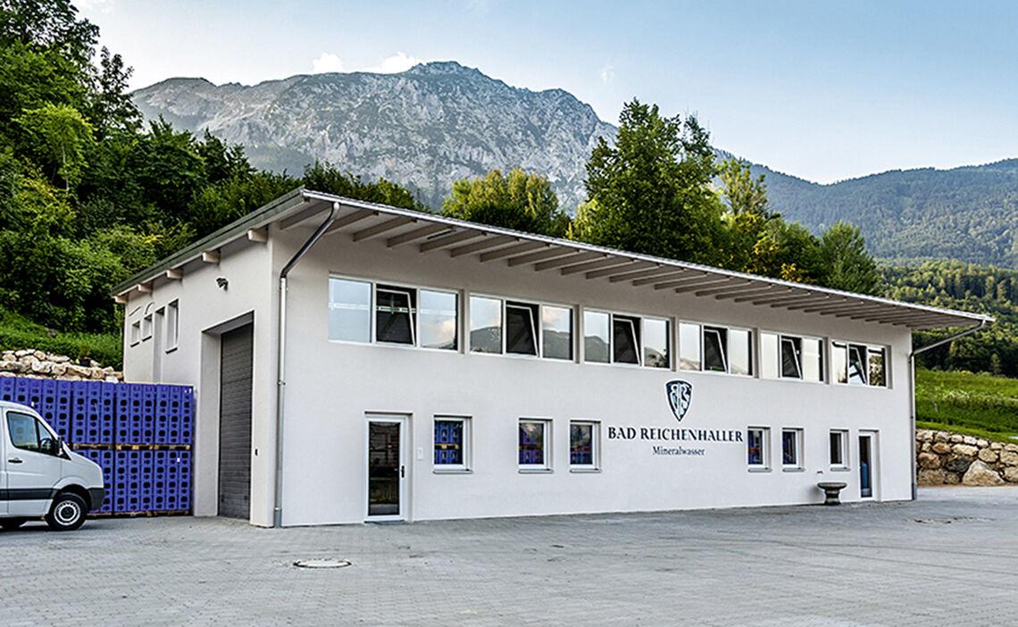 Firmensitz Bad Reichenhaller Mineralwasser