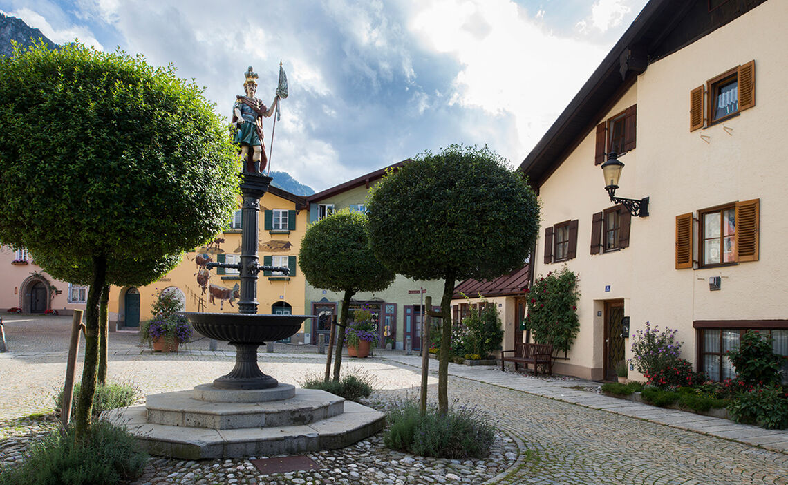 Florian Square In Bad Reichenhall