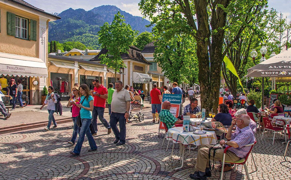 Cafe Spieldiener In Bad Reichenhall