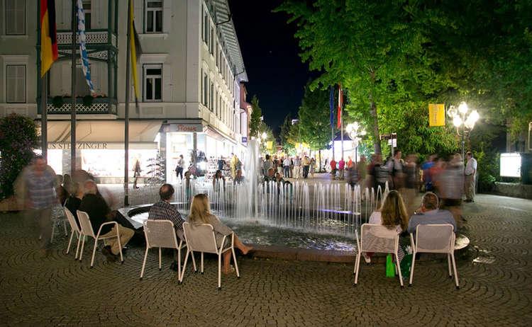 Geniessen Alpenstadt Reciehnhall Klangwolke