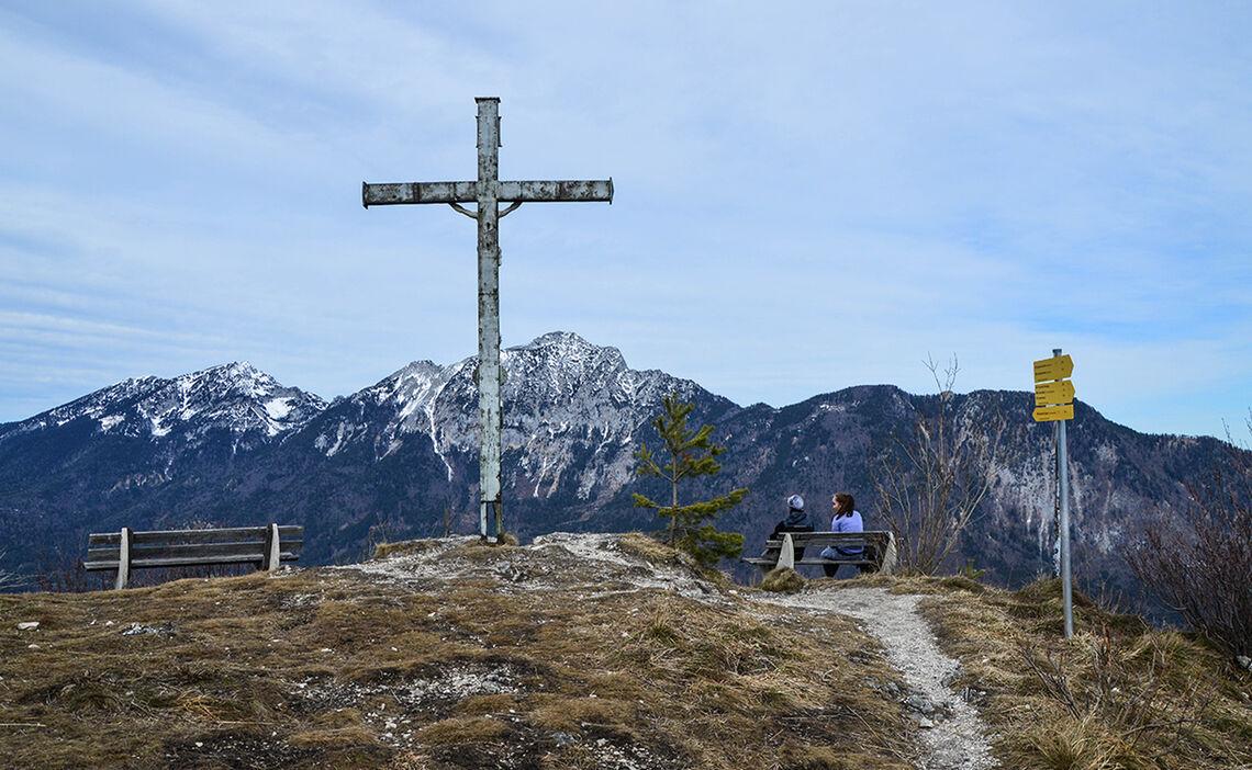 Gipfelkreuz Doetzenkopf