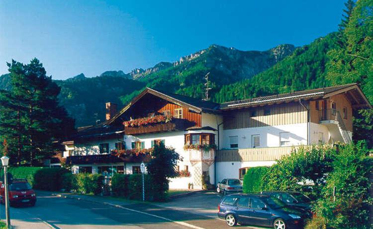 Haus Amberger Bayerisch Gmain Salzalpensteig
