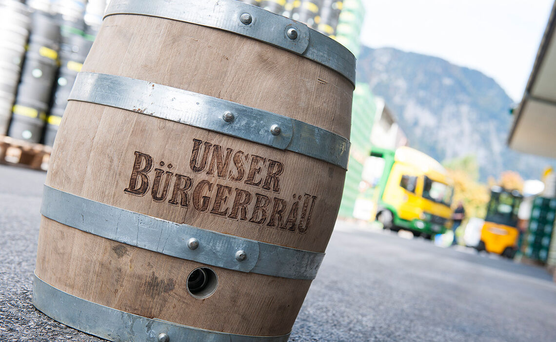 Heimatbrauer Buergerbraeu Alpenstadt Bad Reichenhall