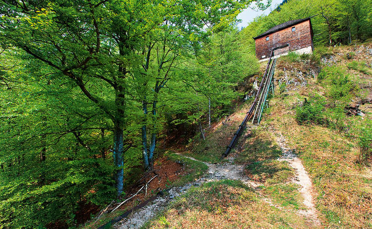 Himmelsleiter Schneizlreuth