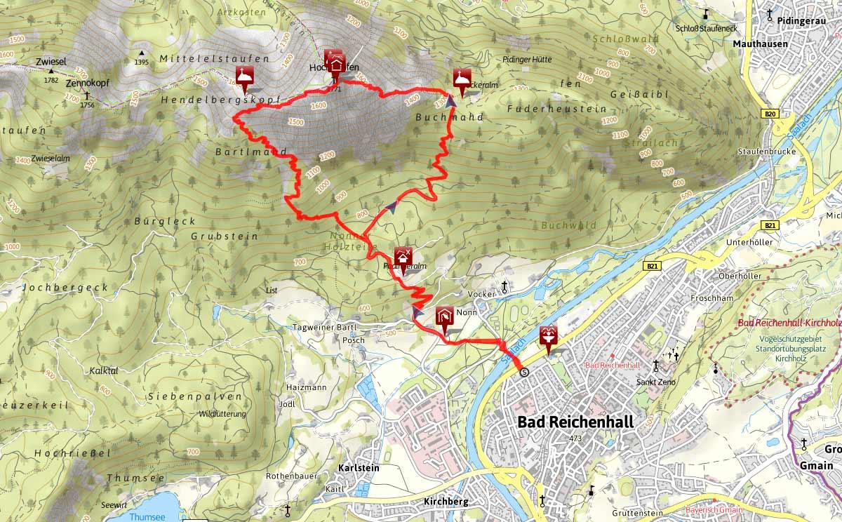 Hochstaufen Bergtour