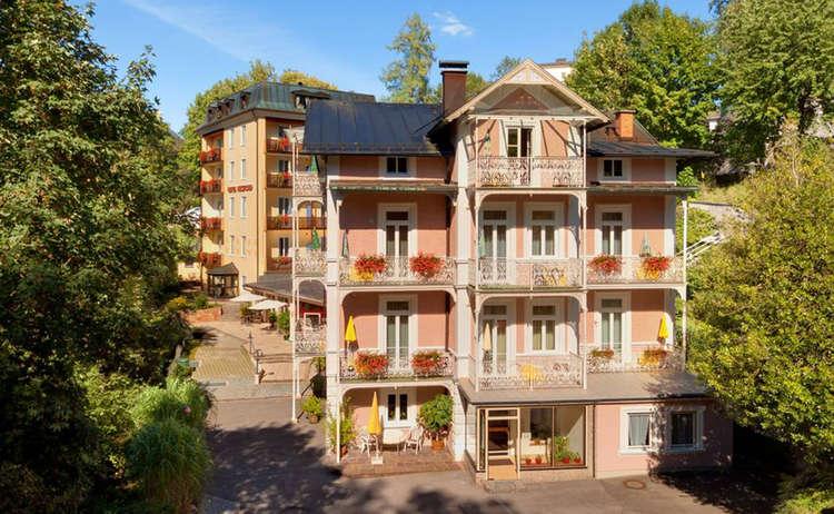 Hotel Garni Dora Bergfried Und Schoenblick Bad Reichenhall Salzalpensteig