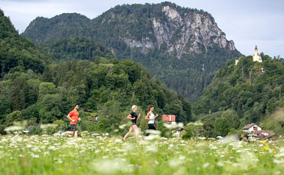 Joggen in Bad Reichenhall