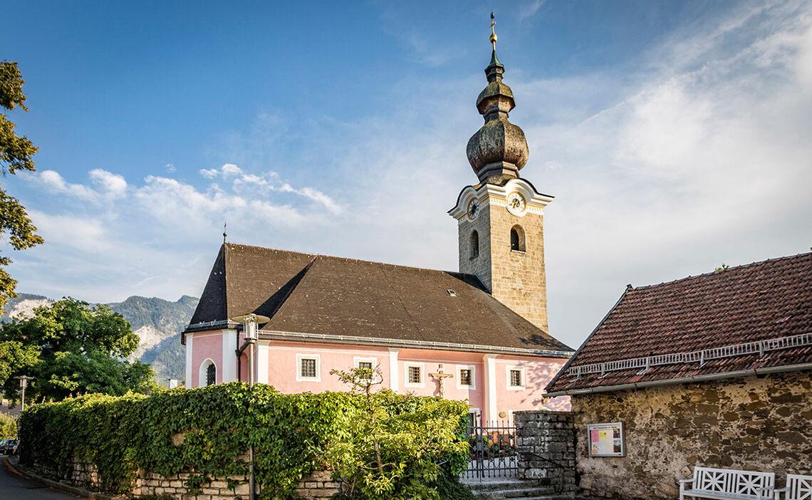 Kirche St Valentin Marzoll Bad Reichenhall