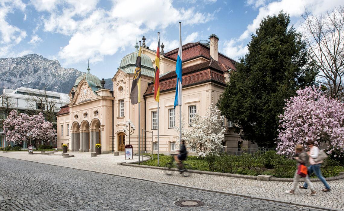 Koenigliches Kurhaus Alpenstadt