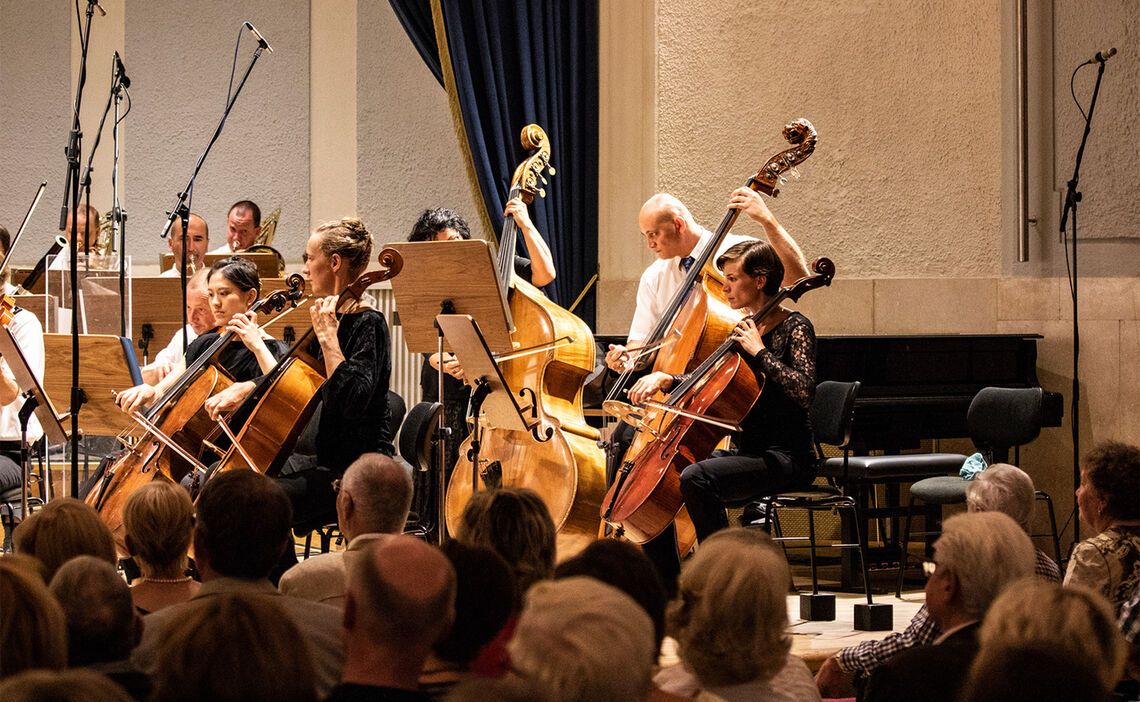 Konzert in der Konzertrotunde