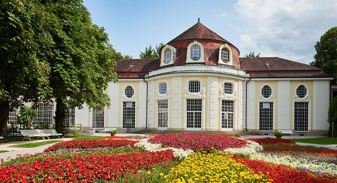 Kurgarten Konzertrotunde Alpenstadt Bad Reichenhall