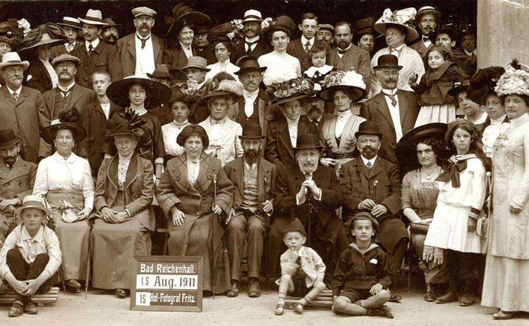 Kurgarten Aufnahme 1911