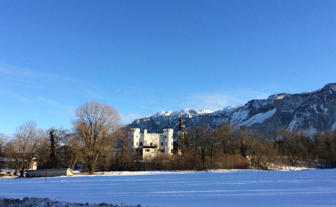 Langlauf Am Schloss Marzoll