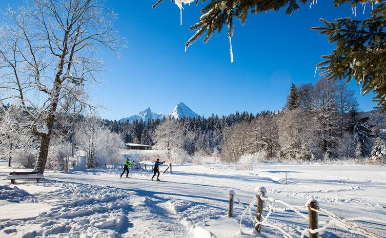 Langlauf Aschauerweiher Berchtesgaden