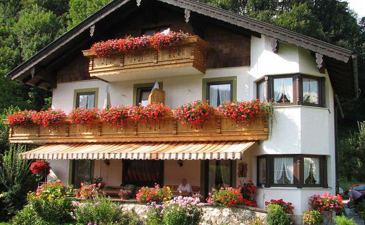 Lanhaus Weiss Bad Reicehnhall Salzalpensteig Gastgeber