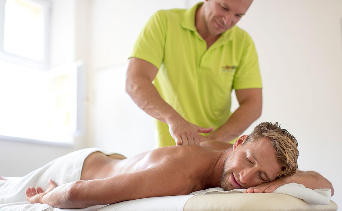 Rückenmassage für mehr Entspannung