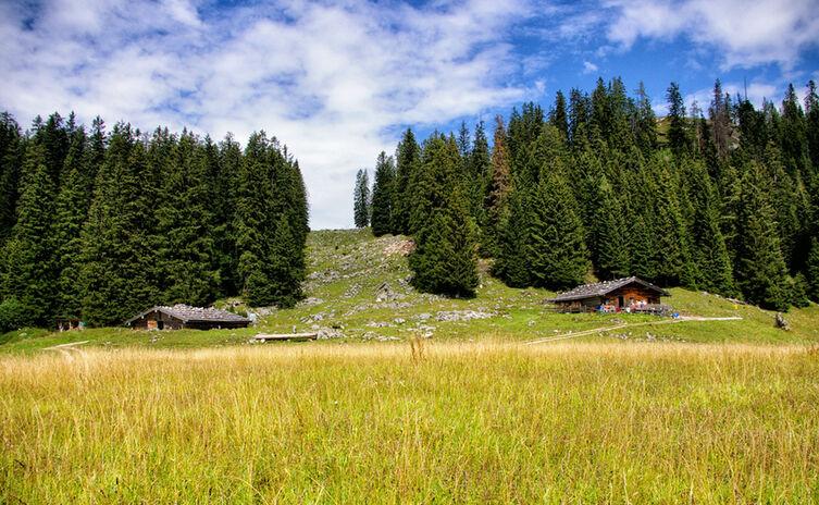 Die Moosenalm im Lattengebirge