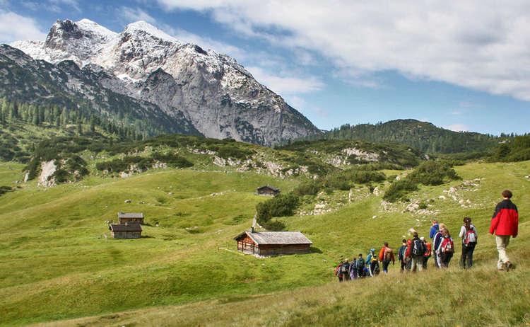 Nationalpark Wanderung Auf Die Reiteralpe