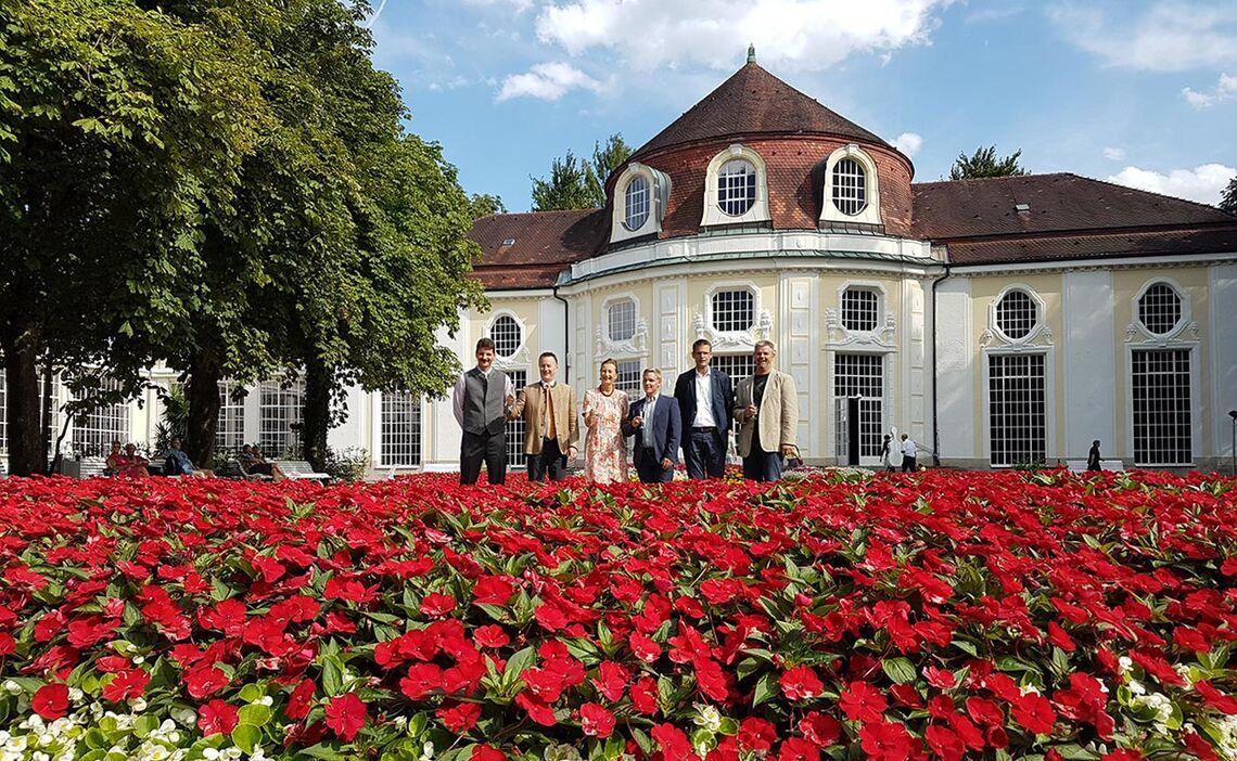 Konzertrotunde im Königlichen Kurgarten